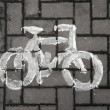 Stock Photo: Bicycle symbol
