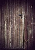 Grunge wooden door — Stock Photo