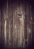 Porte en bois de grunge — Photo