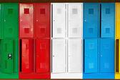 Metal lockers — Stock Photo