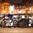 Bikes in Amsterdam - Stock Photo