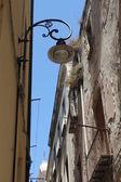 Small street in Cagliari Sardinia,Italy — Stock Photo