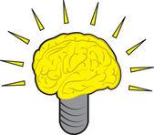 Brain Power — Stock Vector