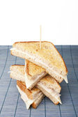 Stacking sandwiches — Stock Photo
