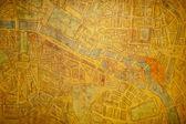 Paris old map — Stock Photo