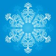 Snowflake winter background - Stock Vector