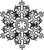 Snowflake winter background — Stock Vector