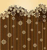 Snowflake winter background — Stock Photo
