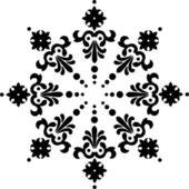 Snöflinga vintern bakgrund — Stockvektor