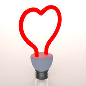 Heart light — Stock Photo