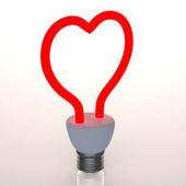Heart light — Stock Photo