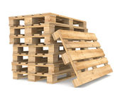 Pile of Pallets — Stock Photo