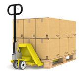 Pallet Truck — Stock Photo