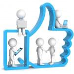 Like. Social Network. — Stock Photo #9776935