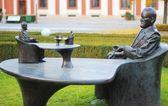 Statue of Sigmund Freud in Prague — Stock Photo