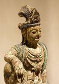 Старый статуэтка индийской богини — Стоковое фото