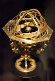 Viejo mundo astronómico dorado — Foto de Stock