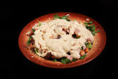 Ceasar's salad — Stock Photo