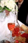 婚礼特写 — 图库照片