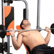 Stock Photo: Body building workout