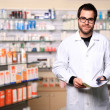 Young pharmacist — Foto de Stock