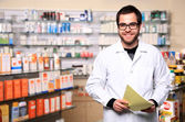 Young pharmacist — Stock Photo