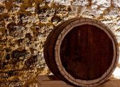 A barrel of wine — Stock Photo