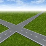 Crossroad Decision Dilemma — Stock Photo #10073477