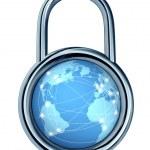 Internet Security Lock — Stock Photo #10217609