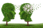 Living With A Dementia Patient — Stock Photo