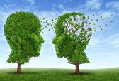 Living With Alzheimers — Stock Photo
