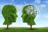 życia chorych na alzheimera — Zdjęcie stockowe
