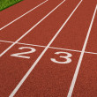 Competition Sport Track — Stock Photo
