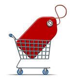 Shopping Savings — Stock Photo