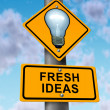 Fresh Ideas — Stock Photo