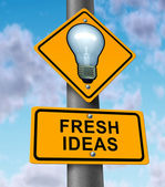 Fresh Ideas — Stock Photo