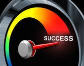 Tachimetro di successo — Foto Stock