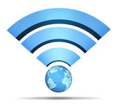 Wireless Network Symbol — Stock Photo