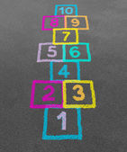 Hopscotch — Stockfoto