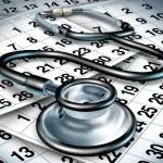 Medical wait time — Stock Photo