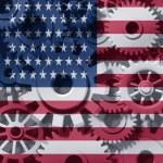 Постер, плакат: American Economy Symbol