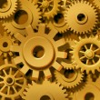 Golden Gears Background — Stock Photo #10534486