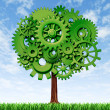 Economy Tree — Stock Photo #10534496