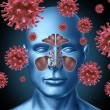 Stock Photo: Cold virus infection