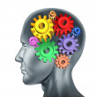 Brain function and intelligence — Stock Photo #10534579