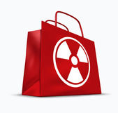 Radioactive Products — Stock Photo