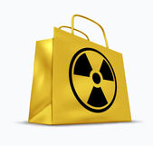Radioactive Retail Shopping — Stock Photo