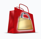 Secure shopping — Stock Photo