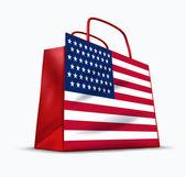 Amerikanska konsumenternas förtroende — Stockfoto