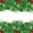 Green pine Christmas background image — Stockfoto